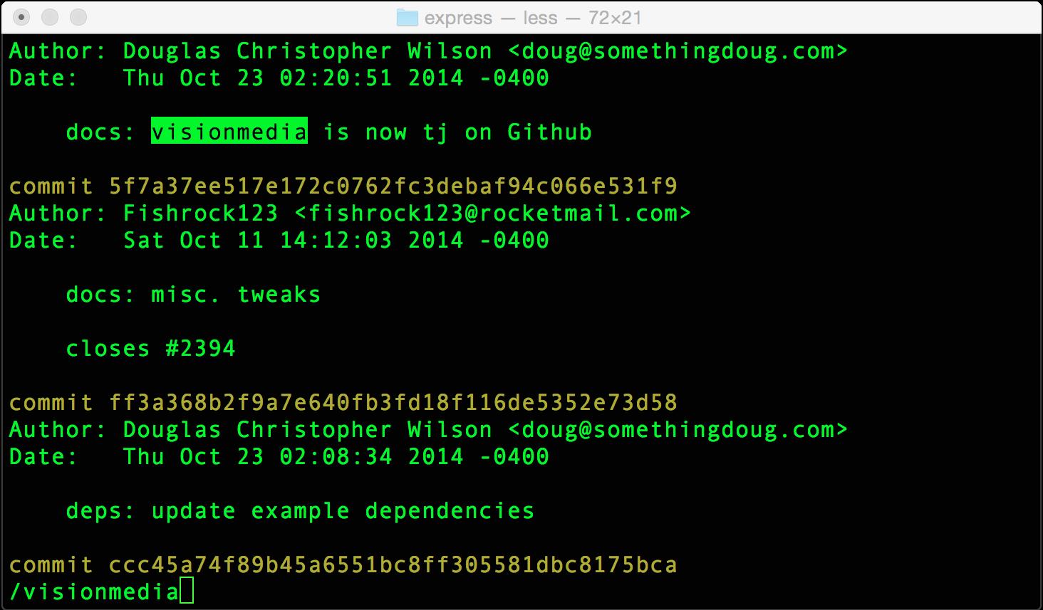 git-log-search